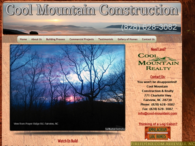 Cool Mountain Construction<br/>Fairview, NC